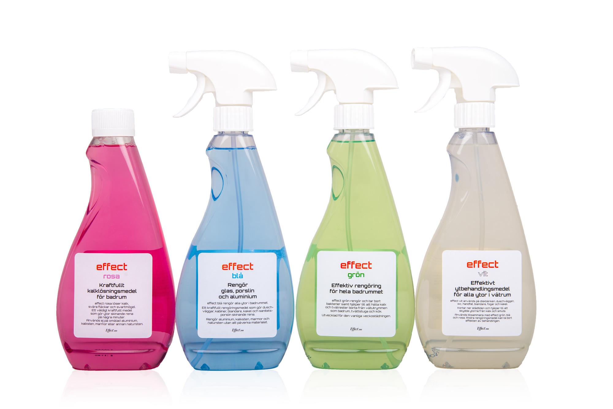 Rengöringsmedel till ditt badrum - Flugeby Golv, Färg & Trä